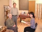 Chiyoko and Tadao Yamaguchi at the Jikiden Reiki Institute in Kyoto