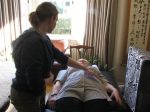Reiki treatment with Gisela Stewart