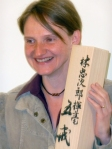 Gisela Stewart, qualified Jikiden Reiki teacher (Shihan)