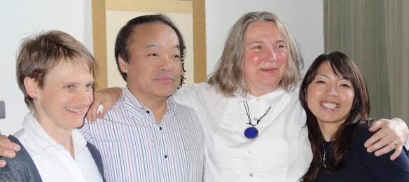 at the 2012 Jikiden Reiki seminar with Tadao Yamaguchi in Edinburgh