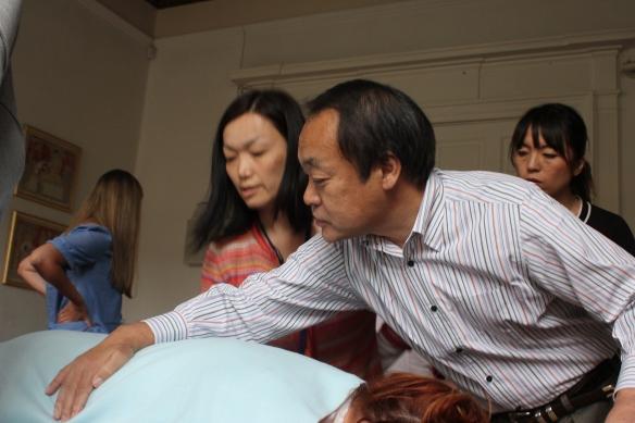 Tadao Yamaguchi teaching in Edinburgh