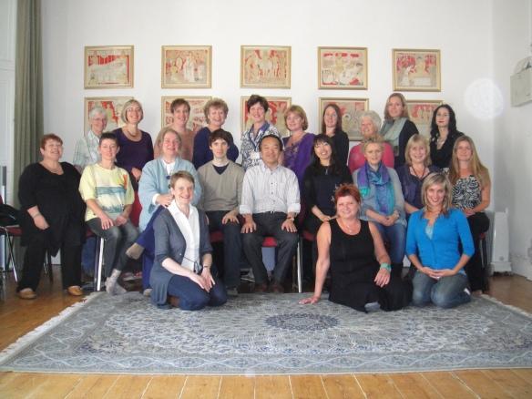 Jikiden Reiki course with Tadao Yamaguchi in Edinburgh 2012